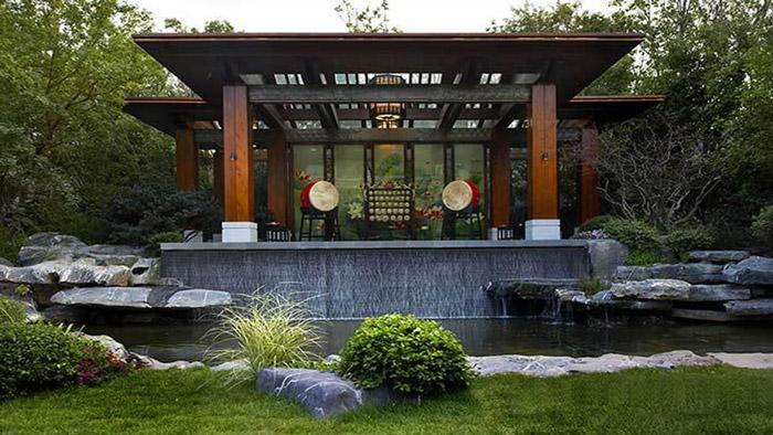 新中式园林景观设计的特点图片